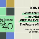 Image for the Tweet beginning: Join us! Wine Enthusiast 40