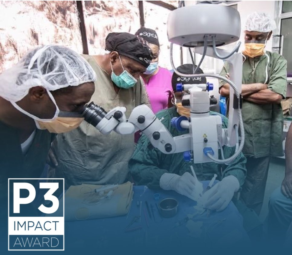 .@EyeEthiopia is the winner of the 2020 #P3Impact award! Under this partnership @SightLife, @CureBlindness & the Ethiopian Ministry of Health established the first eye bank in Sub-Saharan Africa, which has met 100% of demand for corneal tissue in Ethiopia #Concordia20 🏆 https://t.co/JicA3yUbLA