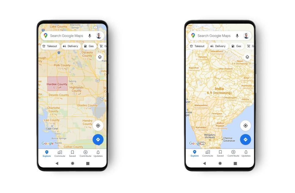 Google Maps now shows you COVID-19 stats https://t.co/Gp5lwII9m0 https://t.co/73NqOvMnTT