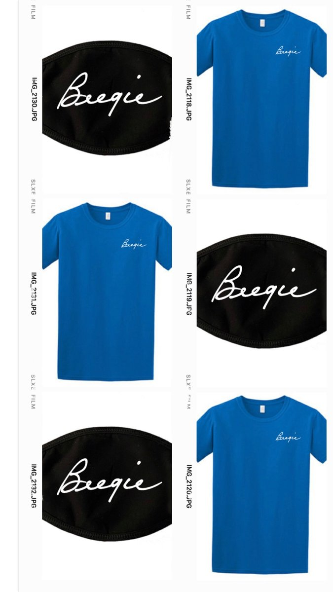 """NEW """"BEEGIE"""" MERCH ALERT!   #preorder now at https://t.co/46L6XlKAQX. Available around 10/9. #merch #newmerch #queenb #Beegie #BeegieAdair #shop #gifts #smallbusiness #shopsmall #tee #tshirt #facemask #wearamask #covid #mask #new #supportmusic #saveourstages #brandnew https://t.co/nHMdcxLAq4"""