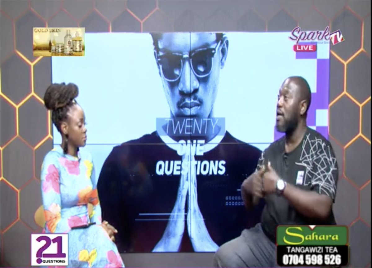 Simon Peter Ndawula aka Omulangira Ndausi says he was a rapper and dancer before joining radio. Catch the popular radio presenter on #21Questions showing now on Spark TV https://t.co/L3iSLo7erd