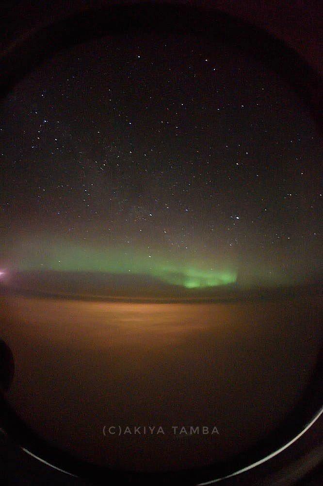 オーロラの夢でも見ながら、寝るかな…  北欧からの帰国時には何度も飛行機の中からこんな景色を見たけど、未だに北米に行く際には見たことがない💧その分、現地では毎日のように見れてたんだけど、昨年は初めて見れなかった。 #aurora #northernlights #auroraborealis #オーロラ #飛行機からの景色 https://t.co/ay6p6aE99H