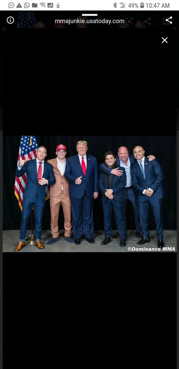 Do you think these fighters realize that Trump's administration is what stopped us from getting paid like other professional athletes? That they are cheesing with the man who cost them millions of dollars? https://t.co/fU98bPANKu
