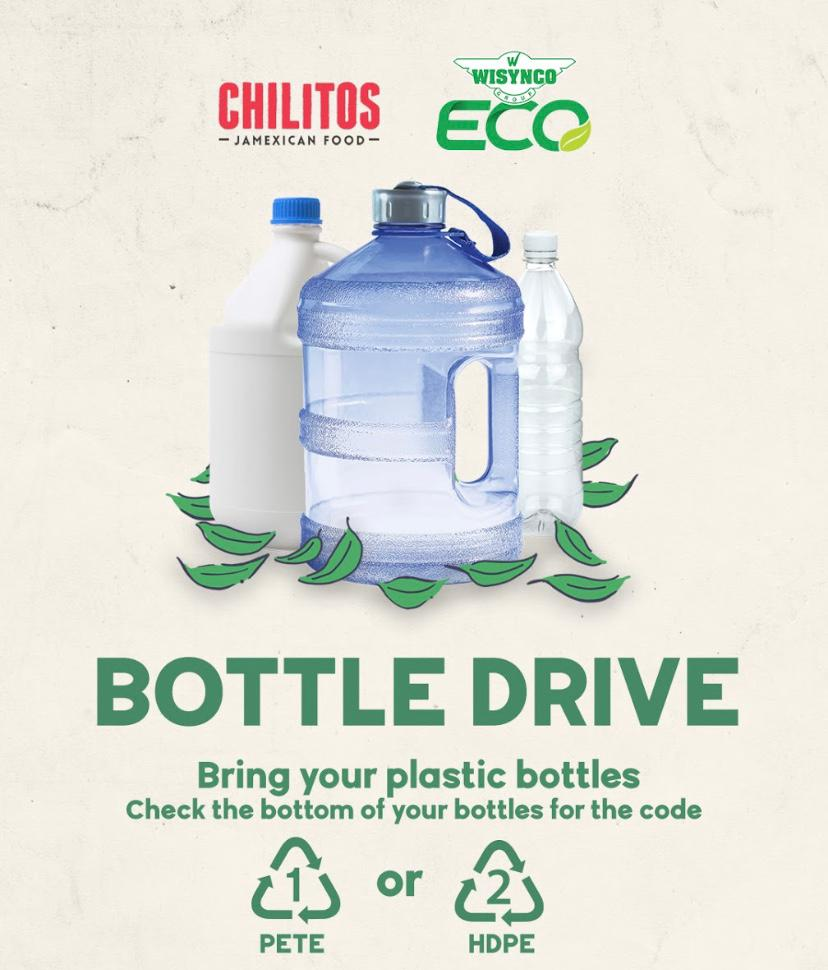 Don't forget that we do have a Plastic Bottle Recycling Collection Bin right in our parking lot. Play your part in protecting Jamaica's ecosystems by doing a drop off... and then rewarding yourself with some Chilitos grub! https://t.co/vx7pIJf9qn