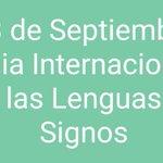 Image for the Tweet beginning: Hoy #DiaInternacionalLenguasDeSignos pedimos al alcalde