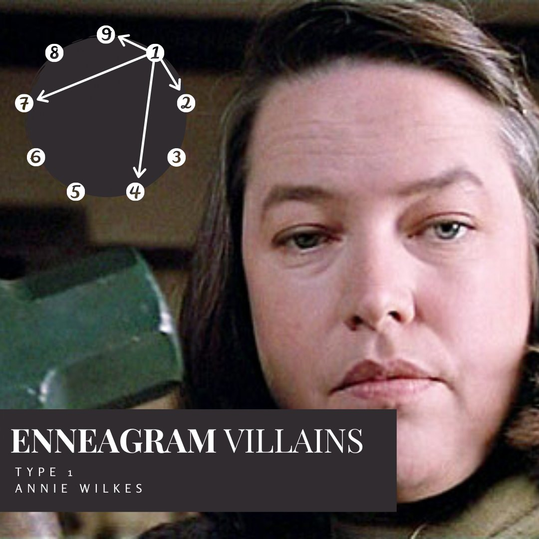 We begin our series on the Villainous side of the types with Ones — and our favorite nurse.  Listen here: https://t.co/PnaI2gkBth  #enneagram #enneagram1 #enneagram1w9 #enneagram1w2  #miserymovie https://t.co/zgKqgVXmax