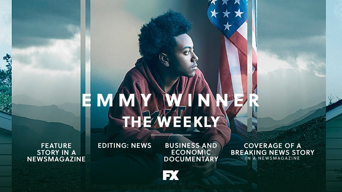 congratulations to the @theweekly team on their well-deserved #newsemmy and #docemmy awards. https://t.co/z20kyGP5PN