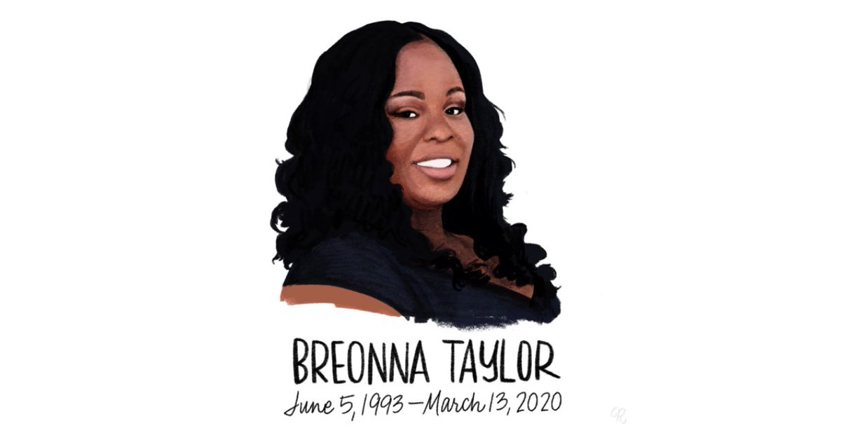 SAY HER NAME: BREONNA TAYLOR.  Our current justice & policing system has failed. It has failed to keep us safe, even in our own homes. It has failed to protect Black people or stem the tide of racist police violence. And today, it has failed to deliver justice for #BreonnaTaylor.