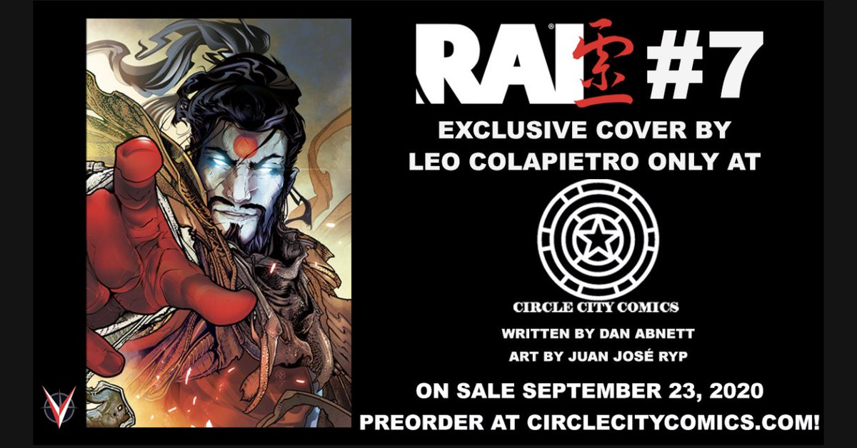 And we've got one of the few exclusives for this amazing @ValiantComics books! @LeoColapietro knocked it outta the world with this cover! #rai #exclusivecomic https://t.co/Kx3lxtwSBd https://t.co/oe494JGFzE