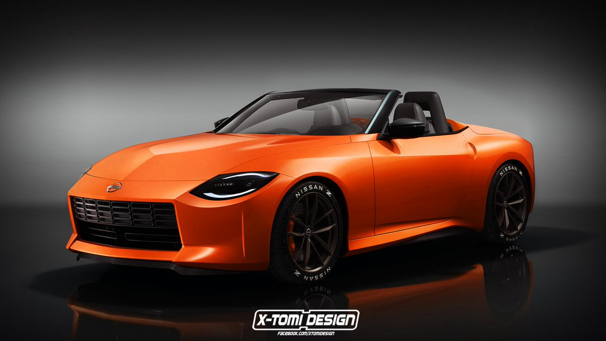 This is the new Nissan Z with no roof, and a big boot. Days into the Z Proto's life and we see unofficial renders of a roadster and estate → https://t.co/QUohdGMl3q https://t.co/oLx8vUBGTV