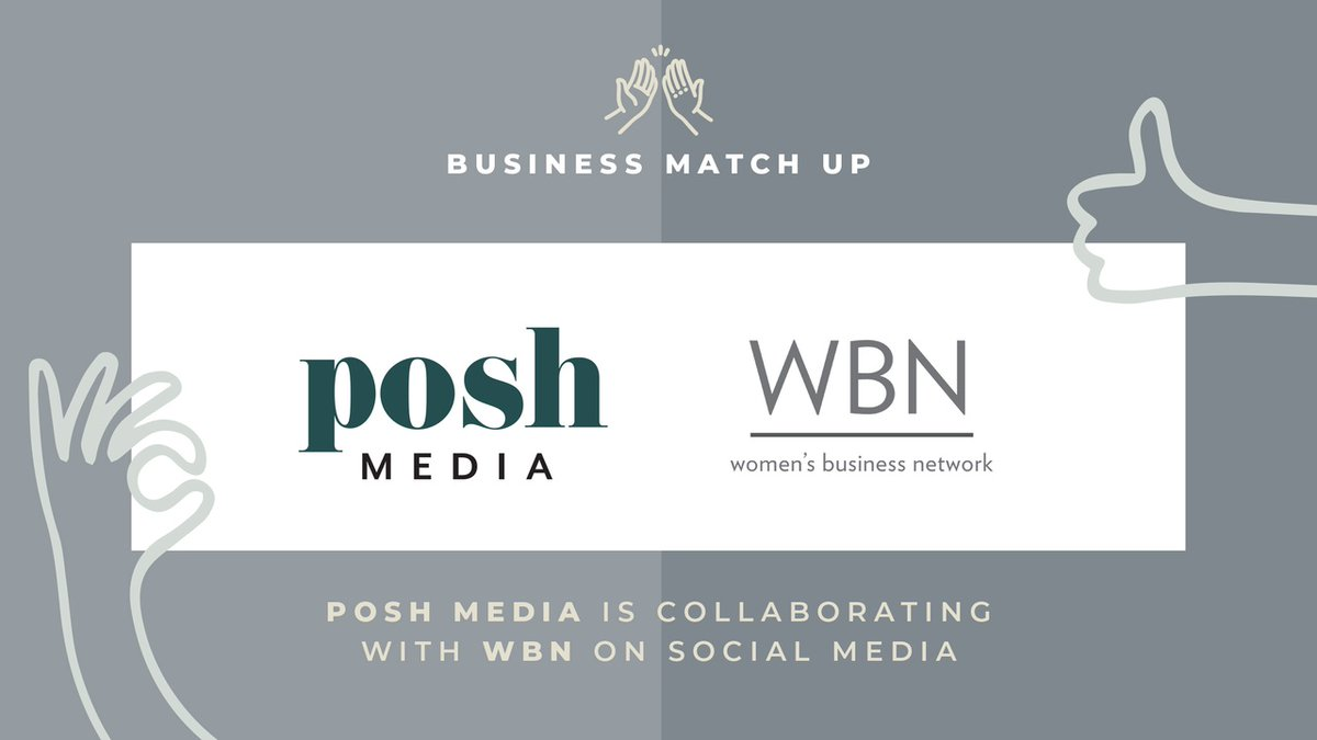 WBN is excited to announce that we have been collaborating with posh media on something exciting: a new look and feel. 👥   posh media will be taking over our social media accounts so that we can more effectively support our current members and reach new, inspiring women. 💪 https://t.co/4OtoSO34N9