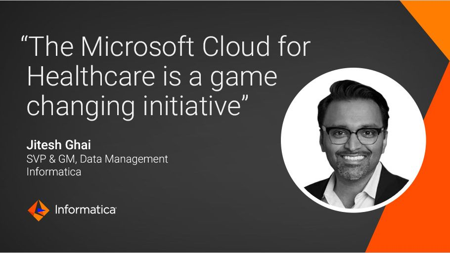 We are very excited that our #iPaaS solution is part of the @Microsoft Cloud for #Healthcare ecosystem, which was announced at #MSIgnite yesterday. As our SVP @DataGhai says, it's a true game-changer! https://t.co/76gloS16dt https://t.co/4HvQbqclHJ