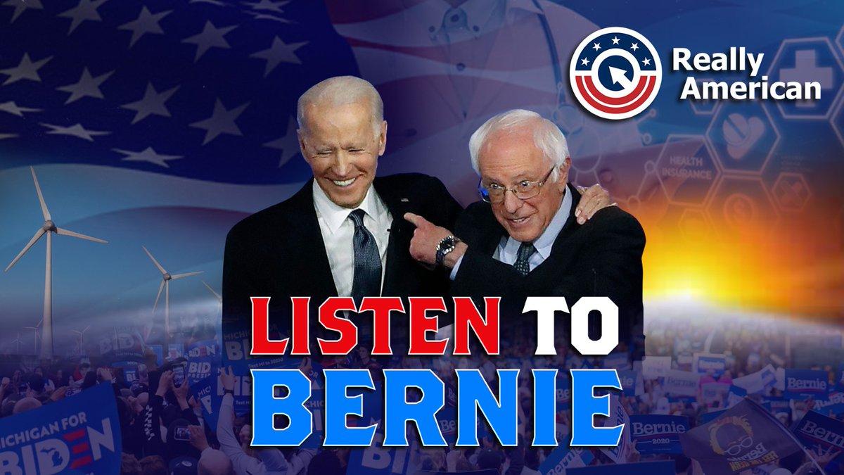 Replying to @briantylercohen: Bernie gets it. #ListenToBernie