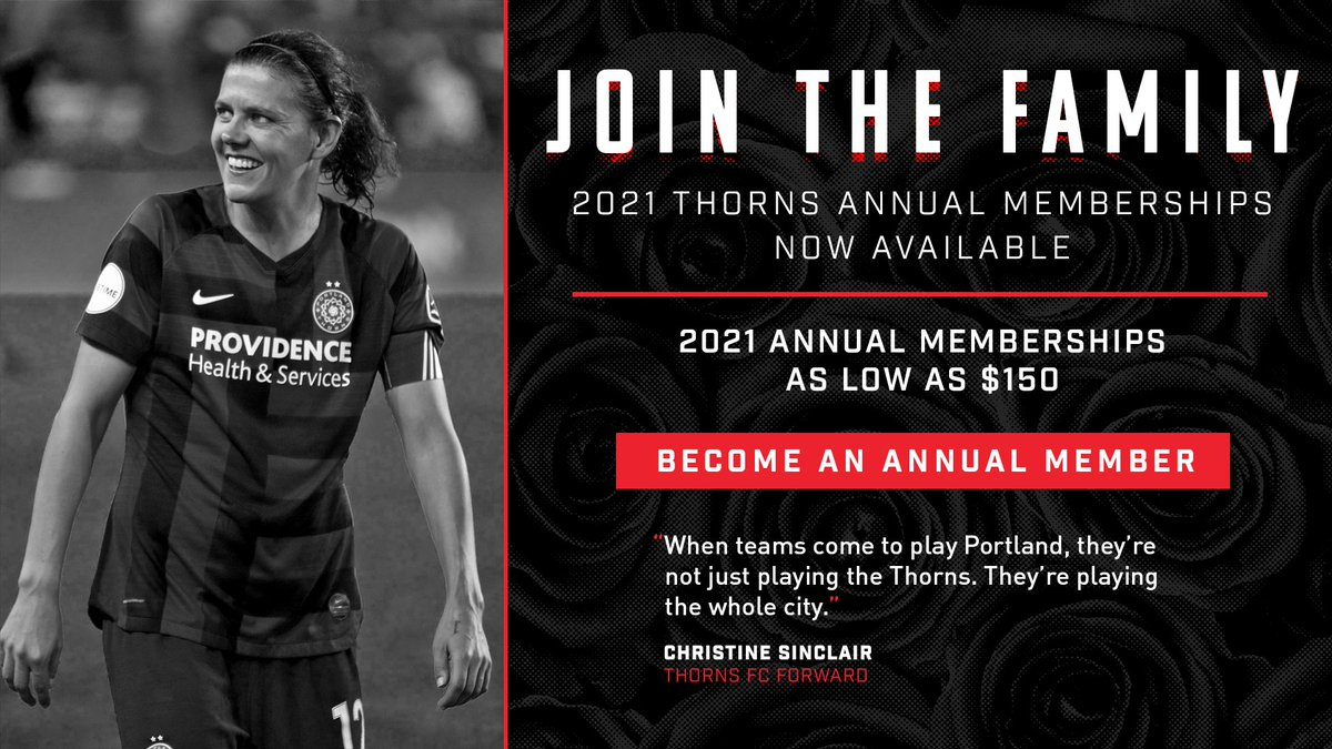 Want to be more than a fan? Become an annual ticket member and join our family! 👉🌹 | ow.ly/9nmH50BzmXj | #BAONPDX