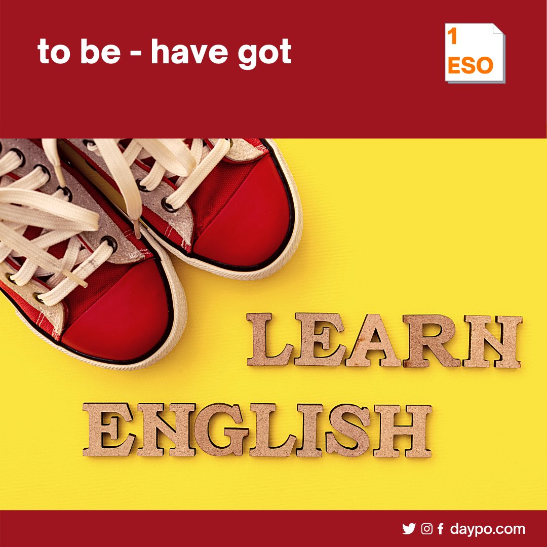 Test 1 ESO - TO BE / HAVE GOT  https://t.co/1EiuapAQ3G  #daypo #eso #aprendejugando #tests #secundaria https://t.co/dE5hxwOljy