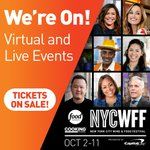 Image for the Tweet beginning: .@NYCWFF is back! Head to