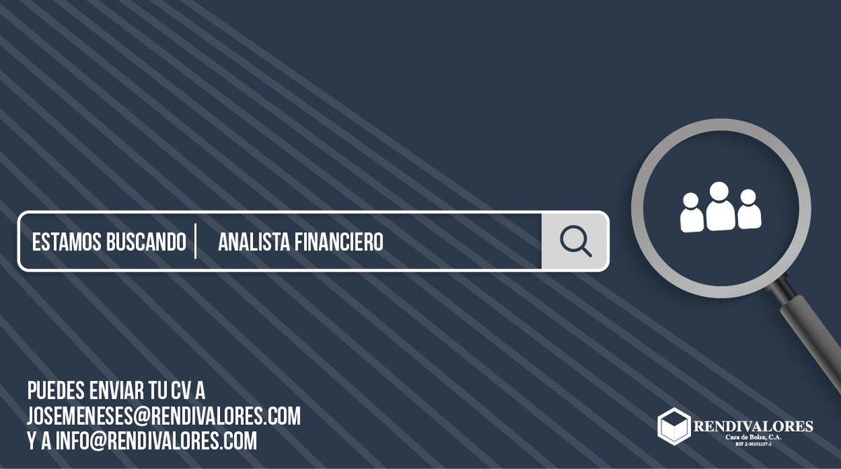¡Únete a nuestro equipo!   Estamos buscando un analista financiero para unirse a nuestra casa de bolsa.  ¡Tenemos muchos proyectos en camino y estamos buscando expandir el equipo!   Correo electrónico: josemeneses@rendivalores.com / info@rendivalores.com https://t.co/njrL1uB5J0