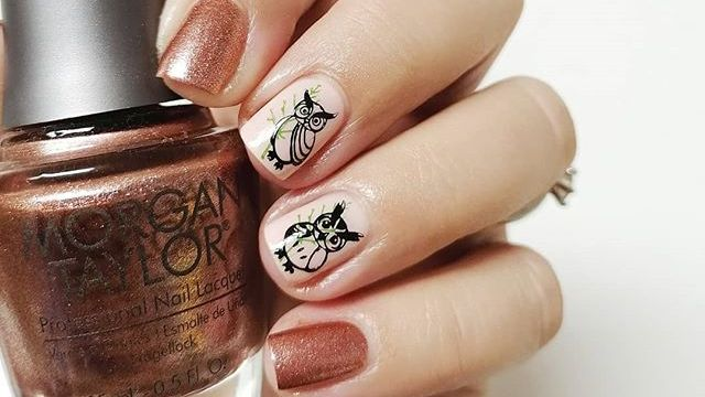 These nails are truly a hoot! 🦉 We love how playful yet glamorous this owl manicure by @_shadesofrainboww_ is! #MorganTaylor #MTMorganTaylor #Owls #Nailstagram #Lacquer #FallNails https://t.co/9Ba5I6wHxd