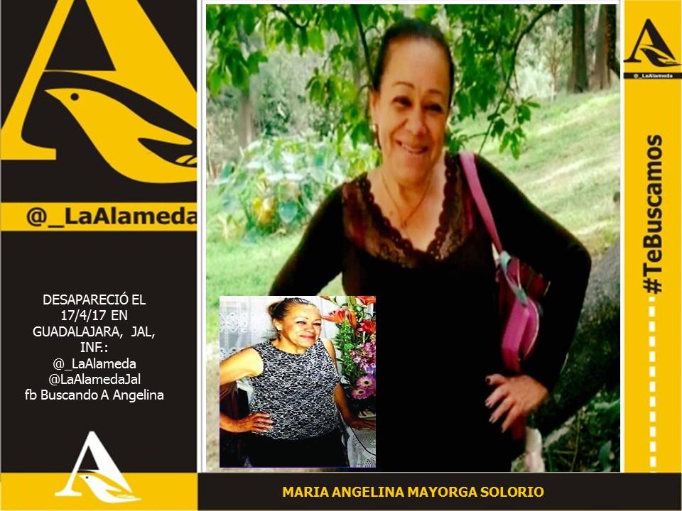María Angelina Mayorga Solorio 2017-04-17  #Zapopan #Jalisco inf fb Buscando A Angelina https://t.co/eEUOL8c2Fe