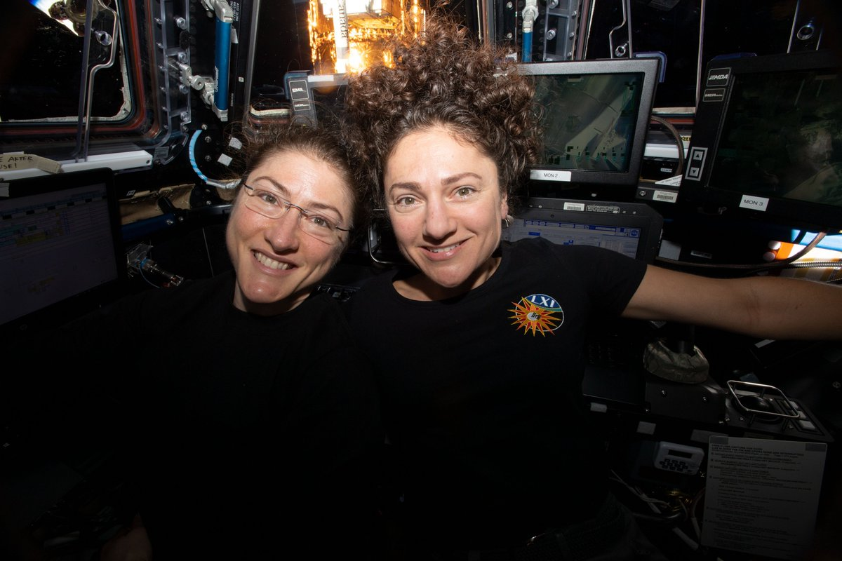 Please join us in congratulating @Astro_Christina and @Astro_Jessica for being named among the #TIME100 most influential people of 2020! Read @maejemisons write-up on their accomplishments: time.com/collection/100…