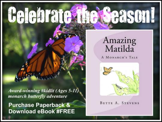 "AMAZING MATILDA, A Monarch Butterfly Tale--a beautiful message of love, patience, perseverance and belief.""  AMAZON BEST SELLER!  🦋 Butterflies https://t.co/GjKvL9qjmt 👦👧📚Children's Action & Adventure Books (Age 4-11)  #education #monarchbutterflies #BackToSchool #RRBC https://t.co/HXRmR4REOx"