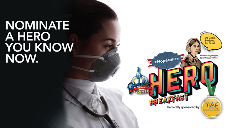 Do you know a healthcare hero? Nominate them as a HopeCare Hero to receive a free hero's breakfast during our Hotcakes for HopeCare event Sept. 29th. https://t.co/lwxbISXbFV #healthcare #hero #healthcarehero #breakfast #honor #wichita #ict https://t.co/O48Vb5SQJg