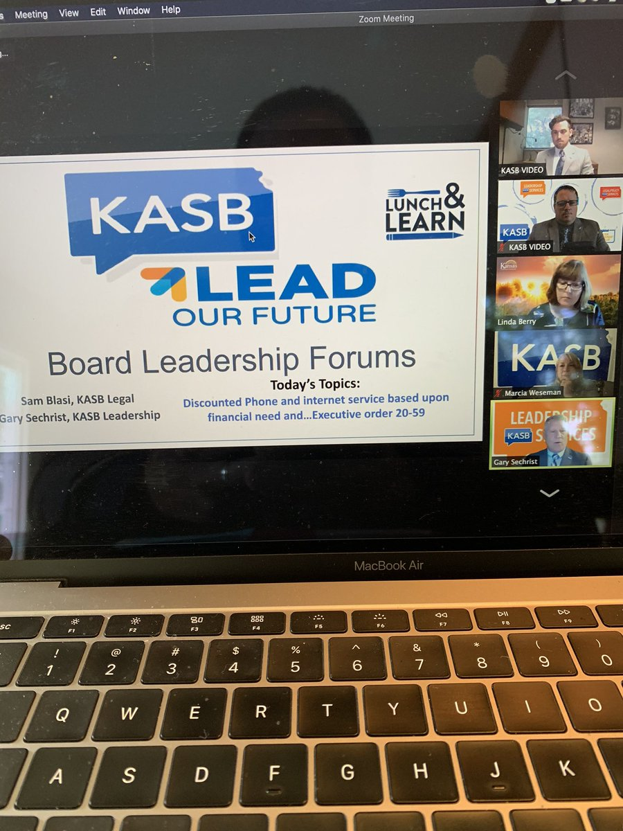 @KASBTopeka Lunch and Learn. Great topic about supporting students and families with options to access connectivity to internet and phones. #kasb https://t.co/SzYgZYExMP https://t.co/Xcrn5rxL0t