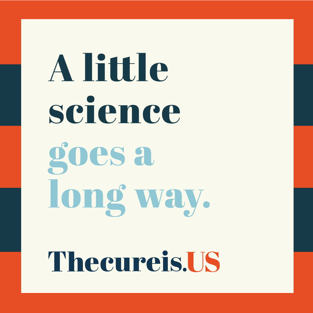 #scienceisreal #thecureisus https://t.co/G1y92RW6st