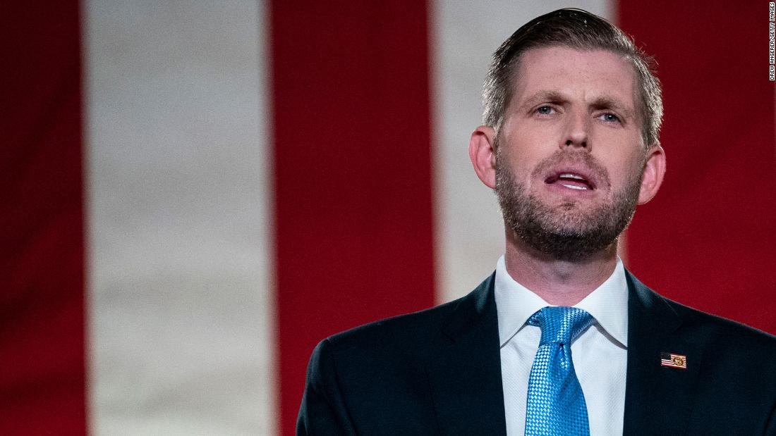 JUST IN: New York judge rules Eric Trump must sit for deposition before the presidential election https://t.co/RmVOpkXQJR https://t.co/xxg2PcLpmT