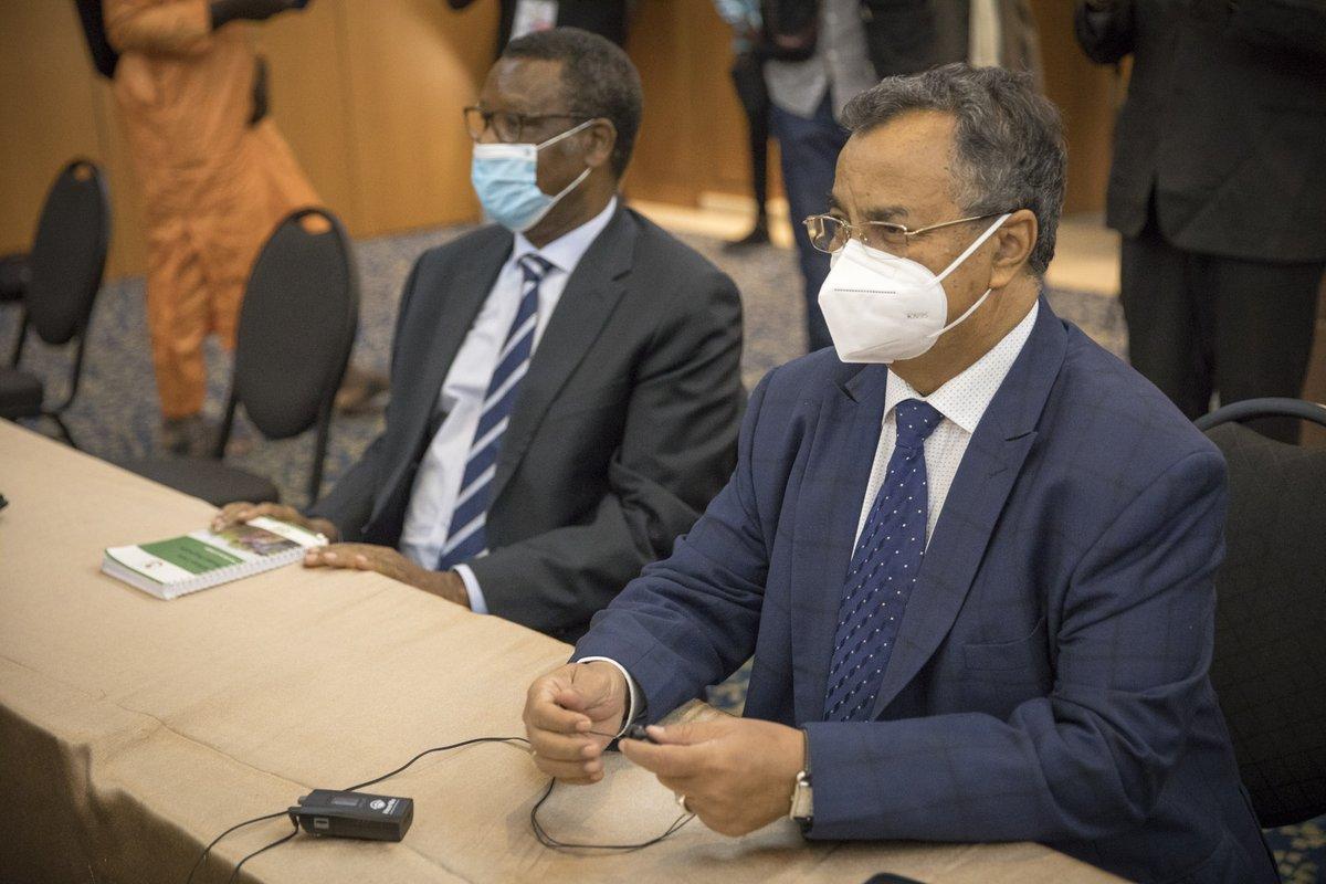 Ils ont fait le point sur la situation au #Mali, avant les autres rencontres prévues lors de la visite de la délégation. https://t.co/cKoTqHbPxP