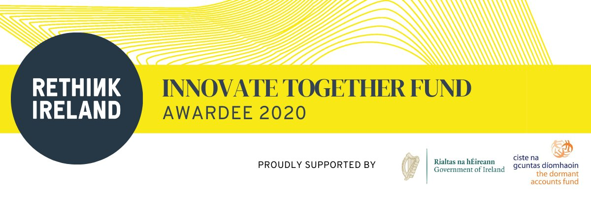 Thrilled to be announced as an Awardee of the #InnovateTogether Fund from @Rethink_Ireland  Well done to our Mental Health Support Worker, Nóirín Mannion, on this fantastic achievement which will benefit students via our WRAP & Creidim Projects #MentalHealth #StudentHealthMatters https://t.co/fyhj0ITrda