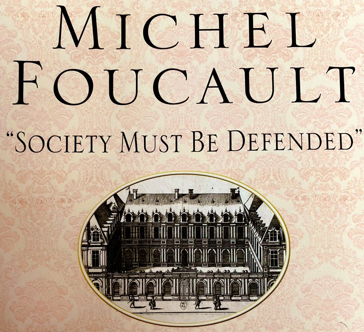 I've read a lot of #Foucault, but mostly in chunks. In my experience it's the kind of thing that #gradschool professors always assume you already read in another class, so you never do. Looking forward to digging into more of his work on my own. #SocietyMustBeDefended https://t.co/BxSKVigpoc