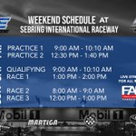 Image for the Tweet beginning: It's #F4US Race Weekend at