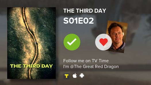 I've just watched episode S01E02 of The Third Day! #thirdday  #tvtime https://t.co/nnWYqGybat https://t.co/okVogoy7cF