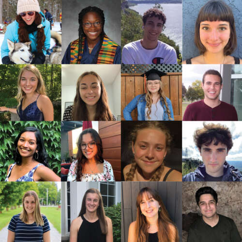2020 Chancellor's and President's Scholars Recognized 🎉  https://t.co/lfup1PYi1X  Congrats to the 16 incoming undergrads who received the top 2020 entrance awards. #OACStudents Asha Bullerwell (animal biology) and Karen Reymer (agriculture) were among recipients. @ABSc_UofG https://t.co/78718JFqTr