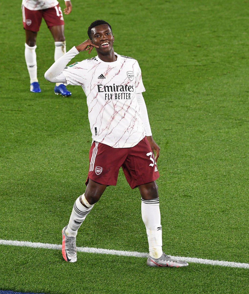 Replying to @EddieNketiah9: Into the next round - we keep pushing!  ⚽️📞 @Arsenal