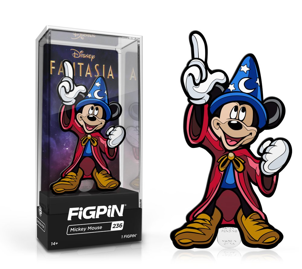 #FiGPiN: Disney's #Fantasia - #Mickey Mouse #236 is available on https://t.co/zRxp6PFkab and #Shumi Nation App.  👉https://t.co/VlGwg8hHCH  #disney mickeymouse #shumination https://t.co/El2pglMqpF