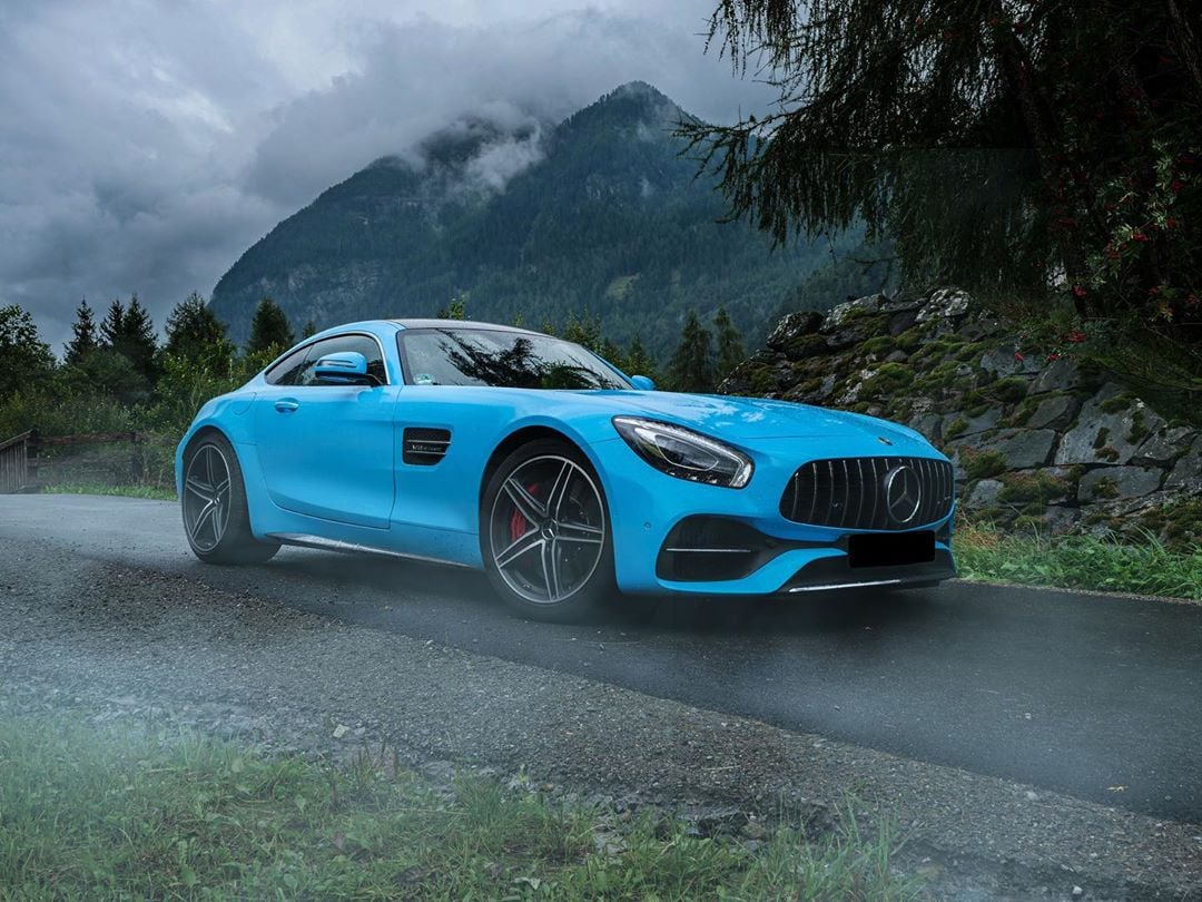 What nickname would you give your Mercedes-AMG GT C? #GTC #AMG