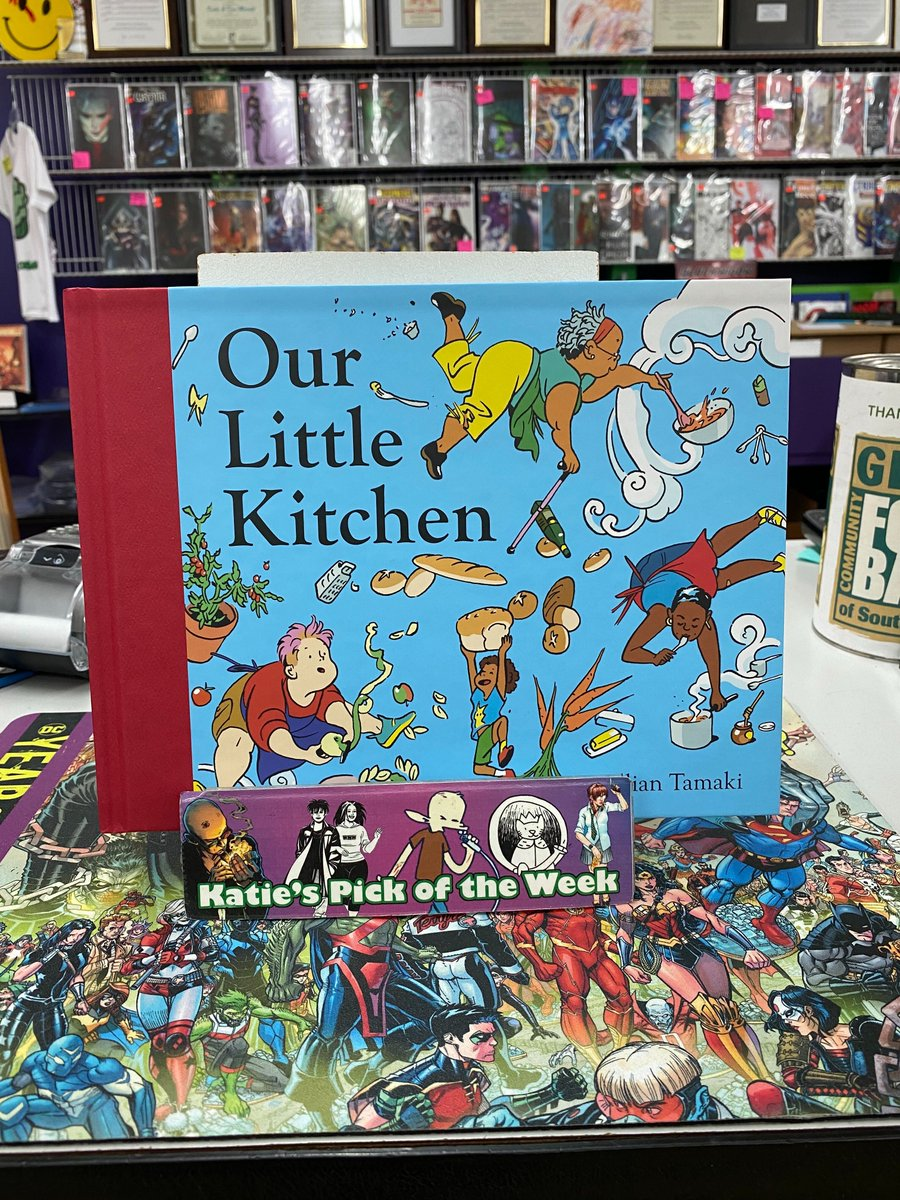 Katie's pick: Our Little Kitchen by @dirtbagg and published by @abramskids https://t.co/UNDMz4XucI