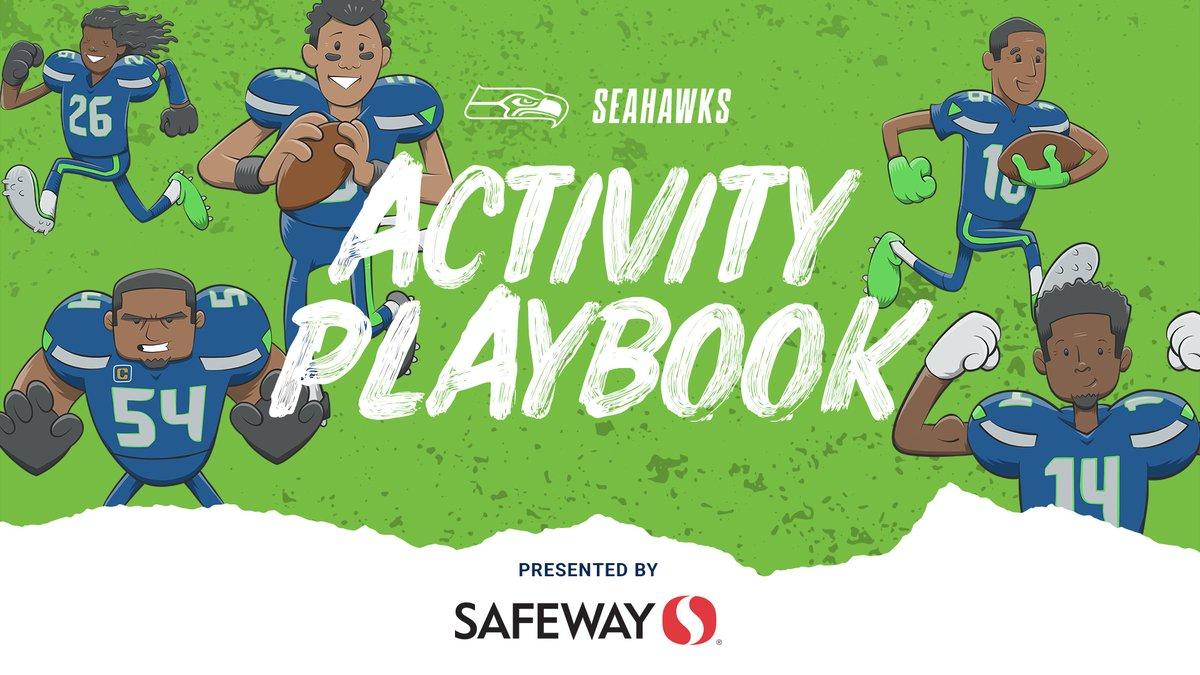 Seattle Seahawks On Twitter Download And Print Our Seahawks Activity Playbook Presented By Safeway Packed With Over 20 Pages Of Activities Junior 12s Can Find Coloring Pages Word Searches And More
