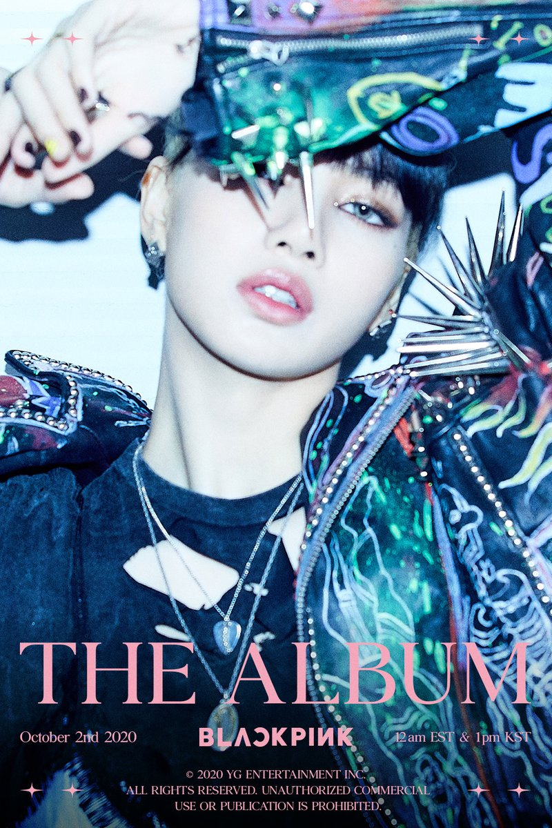 'THE ALBUM' LISA TEASER POSTER #1  #BLACKPINK #블랙핑크 #LISA #리사 #1stFULLALBUM #THEALBUM #TeaserPoster #20201002_12amEST #20201002_1pmKST #Release #YG https://t.co/u225PspOgF