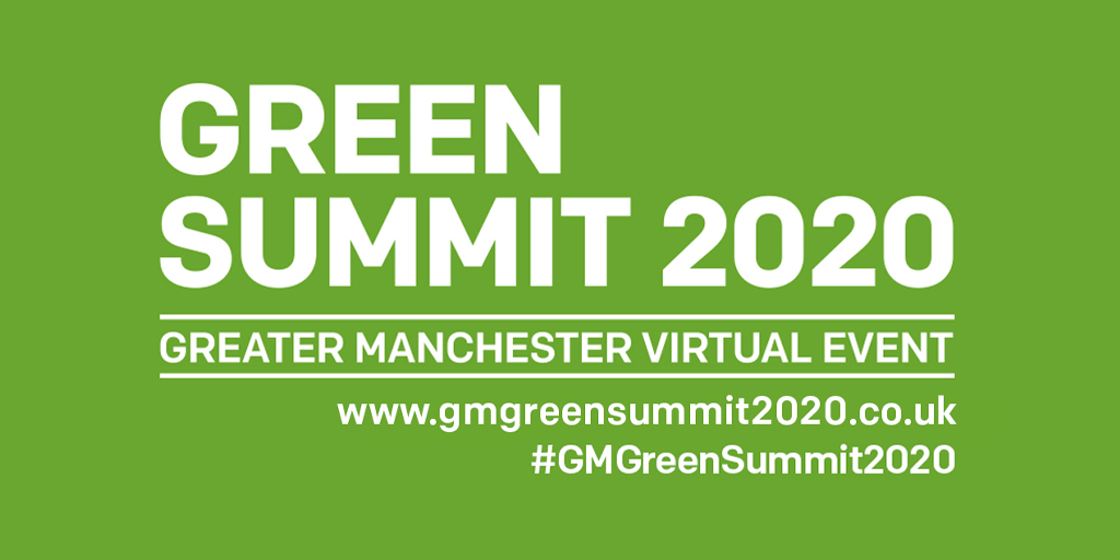 Today is the last day of our successful #GMGreenSummit2020. Thank you to our sponsor's @OfficialUoM @SUEZUK and @ElectrcityNW for helping us make it happen.  Join the debate. Register here https://t.co/d8qR1cxHcQ https://t.co/6Pgb2WdkiZ