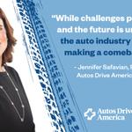 Image for the Tweet beginning: #ICYMI: @AutosDrvAmerica & @WashAutoPress hosted