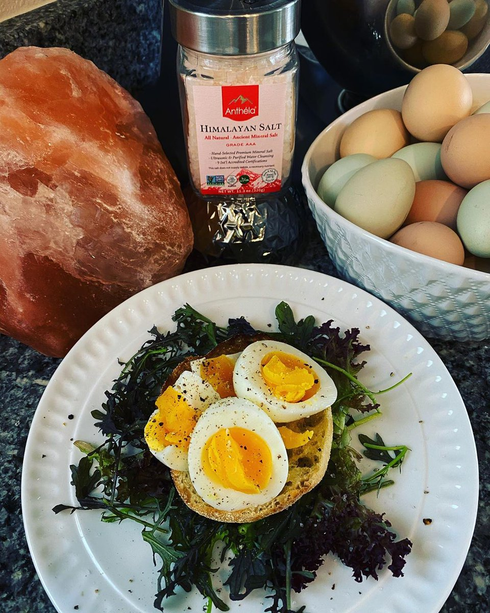 Thanks Chef Rich Hull for sharing this on INS. The best eggs deserve the best salt! Only @AnthelaSalt. #healthylifestyle #HealthyLiving #HealthyFood #HealthyEating https://t.co/n9uCqT1tcL