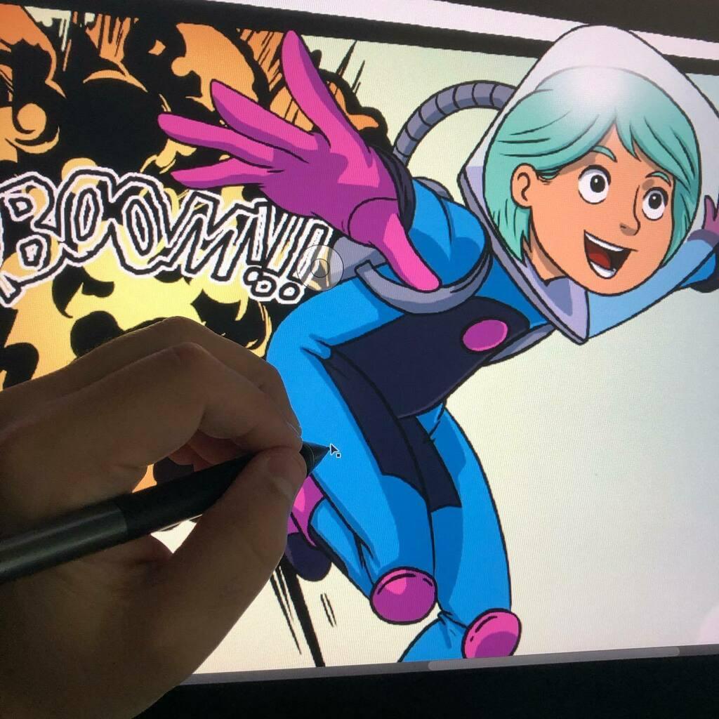 Back to #comicart. Draw fast hand. . . . #art #illustration #drawing #draw #artist #sketch #sketchbook #sketchbookart #artsy #creative #instaartist #artoftheday #justdraw #wip #artlife #dailysketches #sketchdaily #sketching #artnerd https://t.co/iZoPp9eziz https://t.co/pv3GdcWsOJ