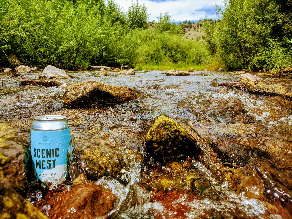 Lookin' good New Mexico 😍 We're busy canning more #ScenicWest our flagship hazy IPA brewed with Eldorado, Simcoe, Citra and Mosaic hops for all your Southwest adventures 🍻 #BEER  https://t.co/xKUKBuPM8M https://t.co/GRq2mQs6I3