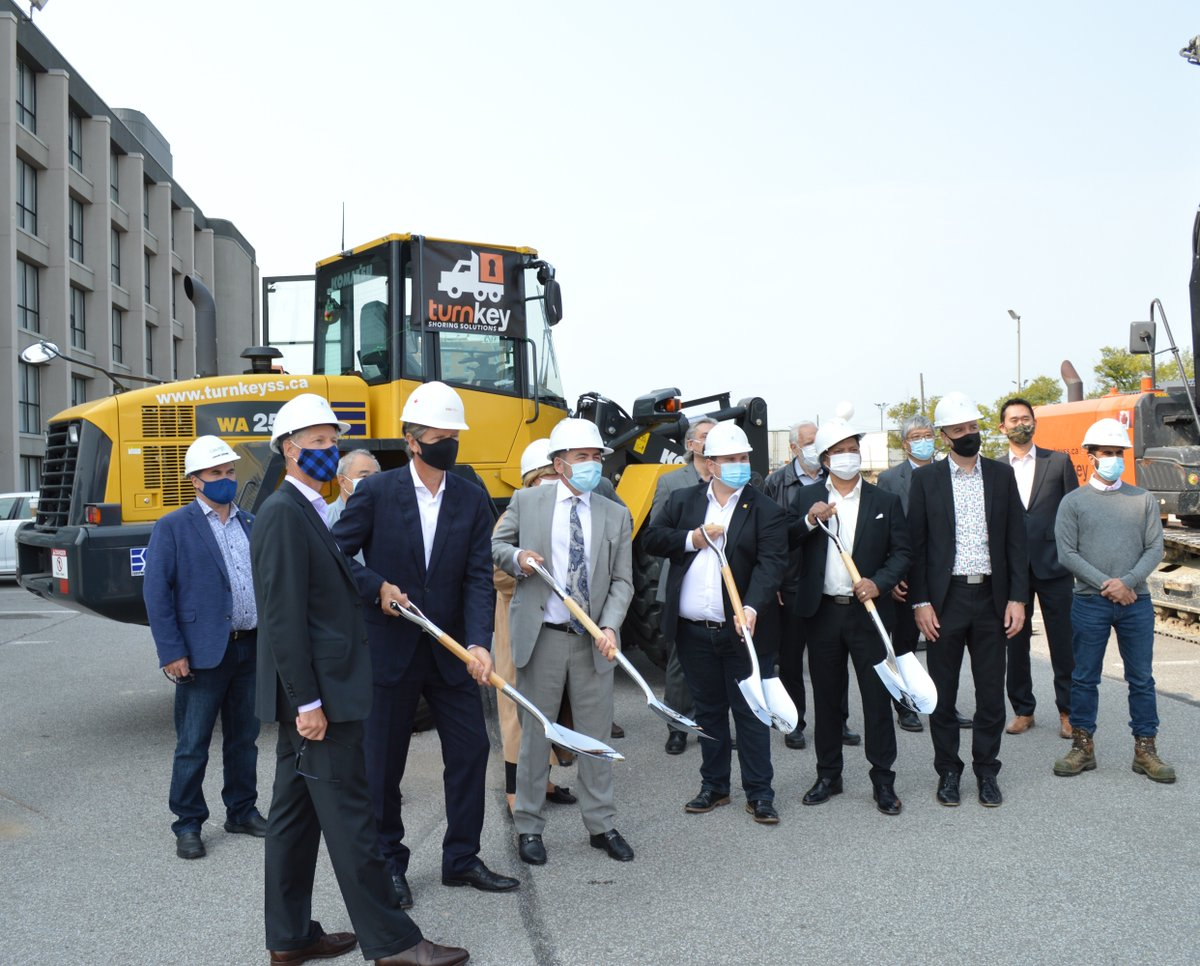 Thank you @TurnkeyShoring for inviting us to the Groundbreaking ceremony of Regal Plaza at 600 Dixon Rd on September 22, 2020.   #construction #ESS #Komatsu #Soilmec #Drills #Geax #groundbreakingceremony #dirtlife #loader #Selix https://t.co/RqROlkK1IH