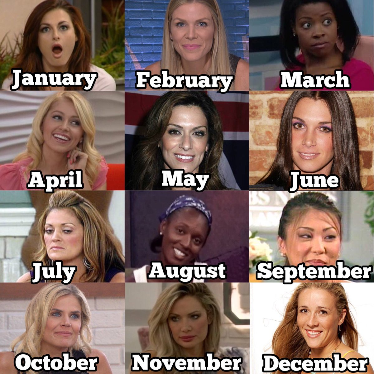 The month and day you were born is the girls you're in an alliance with. Who did you get? #BB22 https://t.co/6A9Uku5Wyj