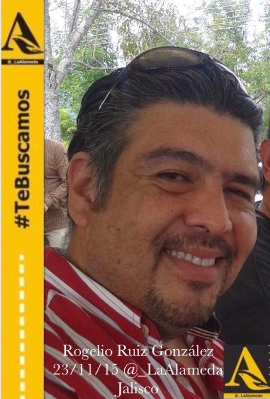 #TeBuscamos Rogelio Ruiz González, 23/11/15 #Zapopan #Jalisco https://t.co/6djFvD2CaW