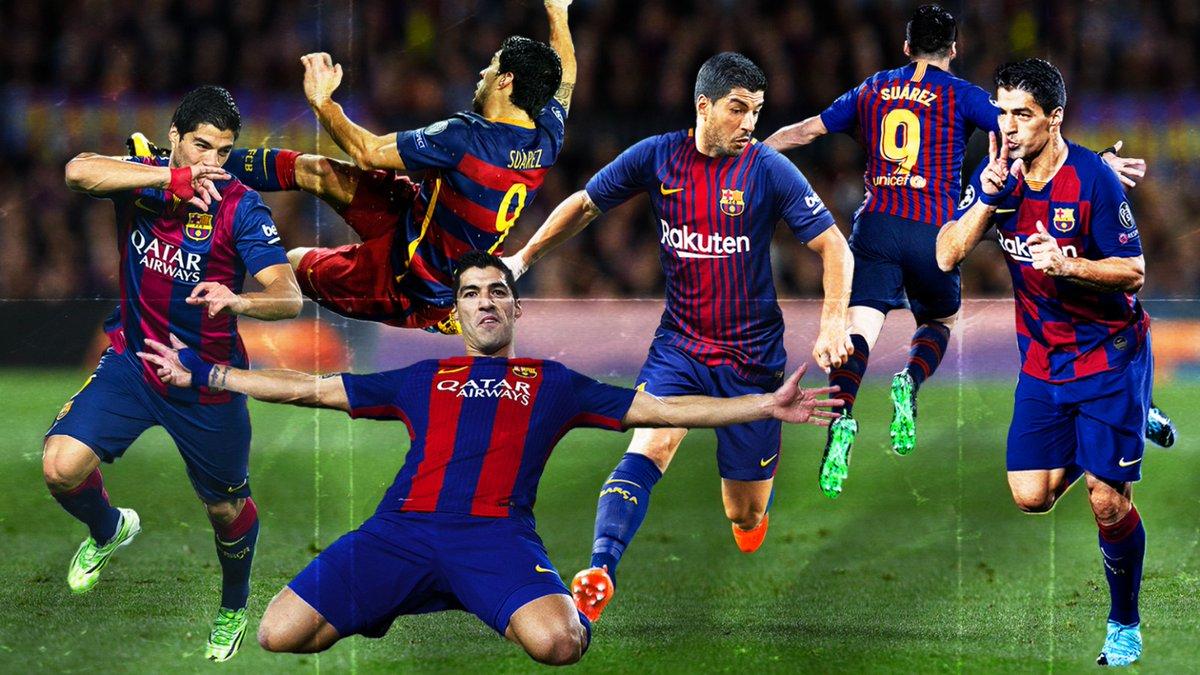 Con esta imagen y con el #9raciasLuis, Barcelona despide a su eterno goleador. https://t.co/JCybargKsy